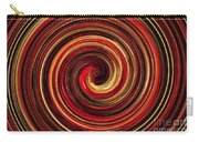 Have A Closer Look. Red-golden Spiral Art Carry-all Pouch
