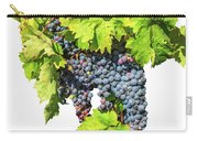 Red Grapes Seasonal Background Carry-all Pouch