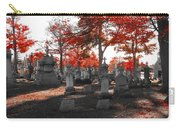 Red Fall Graveyard Carry-all Pouch
