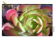 Red Green Succulent Carry-all Pouch