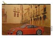 Red Gt3 Porsche Carry-all Pouch