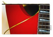 Red Guitar Carry-all Pouch by Hakon Soreide