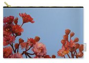 Red Gum Blossoms Australian Flowers Oil Painting Carry-all Pouch