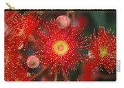 Red Gum Flower Macro Carry-all Pouch