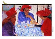 Red Hatters Chatter Carry-all Pouch