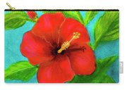 Red Hawaii Hibiscus #238  Carry-all Pouch