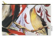 Red Hawaiian Honeycreeper Carry-all Pouch