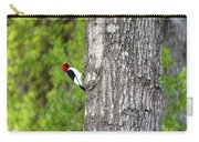 Red Head Bird Carry-all Pouch