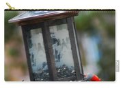 Red Head Wood Peckers On Feeder Carry-all Pouch
