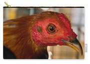 Red Headed Chicken Carry-all Pouch