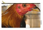 Red Headed Chicken Head Carry-all Pouch