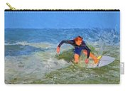 Red Headed Surfer Carry-all Pouch