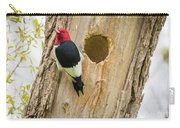 Red-headed Woodpecker At Home Carry-all Pouch