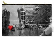 Red Heart In Paris Carry-all Pouch