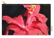Red Hibiscus Square 2 Carry-all Pouch