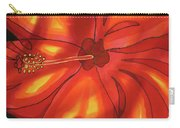 Red Hibiscus 1 Carry-all Pouch