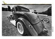 Red Hot Rod In Black And White Carry-all Pouch