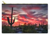 Red Hot Sonoran  Carry-all Pouch