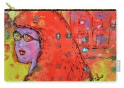 Red Hot Summer Girl Carry-all Pouch