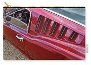 Red Hot Vents - Classic Fastback Mustang Carry-all Pouch