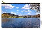 Red House Lake Allegany State Park Expressionistic Effect Carry-all Pouch