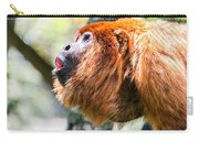 Red Howler Monkey Alpha Male Carry-all Pouch
