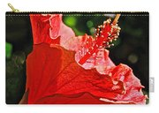 Red Hyacinth At Pilgrim Place In Claremont-california Carry-all Pouch