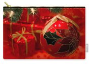 Red Is Christmas Carry-all Pouch