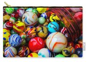 Red Jar Spilling Marbles Carry-all Pouch