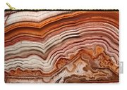 Red Laguna Lace Agate Carry-all Pouch