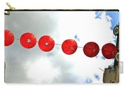 Red Lanterns In Chinatown Carry-all Pouch