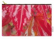 Red Leaf Abstract Carry-all Pouch