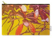 Red Leaves Gold Sunset Carry-all Pouch