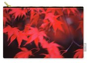 Red Leaves In Fall  Carry-all Pouch