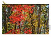 Red Leaves Of Autumn Carry-all Pouch
