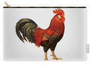 Red Leghorn Rooster Carry-all Pouch