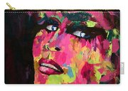 Red Light Offer, Palette Knife Painting Carry-all Pouch