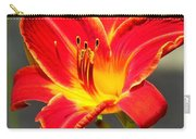 Red Lilly Carry-all Pouch
