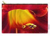 Red Lily Center 4 Carry-all Pouch