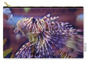 Red Lionfish Art Carry-all Pouch