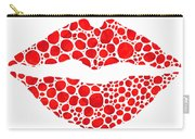 Red Lips Art - Big Kiss - Sharon Cummings Carry-all Pouch