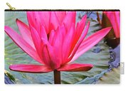 Red Lotus Carry-all Pouch