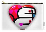 Red Love Heart Carry-all Pouch