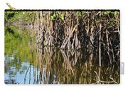 Red Mangrove Roots Reflections In The Gordon River Carry-all Pouch