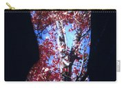 Red Maple Carry-all Pouch by Arla Patch