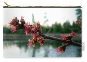 Red Maple Buds At Dawn Carry-all Pouch