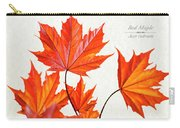 Red Maple Carry-all Pouch