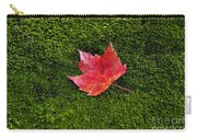 Red Maple Leaf  Carry-all Pouch
