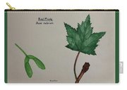 Red Maple Tree Id Carry-all Pouch
