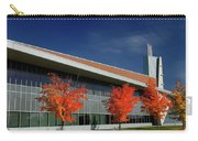 Red Maple Trees And Modern Architecture Of Seneca College York U Carry-all Pouch